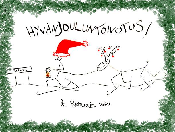 Hyvää Joulua Rehuxilta!